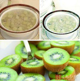 猕猴桃的吃法及猕猴桃粥的种类和功效!