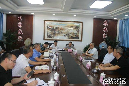 古蔺县委书记李万忠率队调研东新镇猕猴桃产业发展