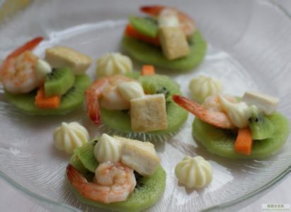 时尚健康营养美食推荐 猕猴桃沙拉