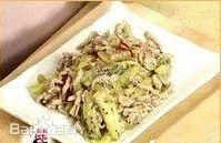 猕猴桃肉丝 水果也能制作营养菜