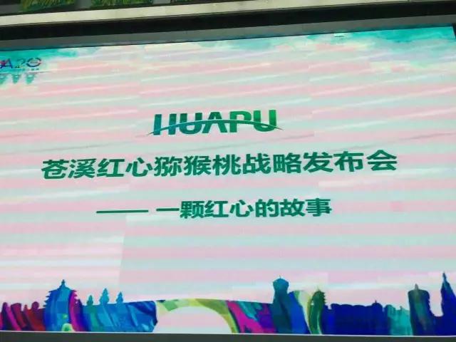第三届中国苍溪红心猕猴桃采摘节暨猕猴桃新零售高峰论坛