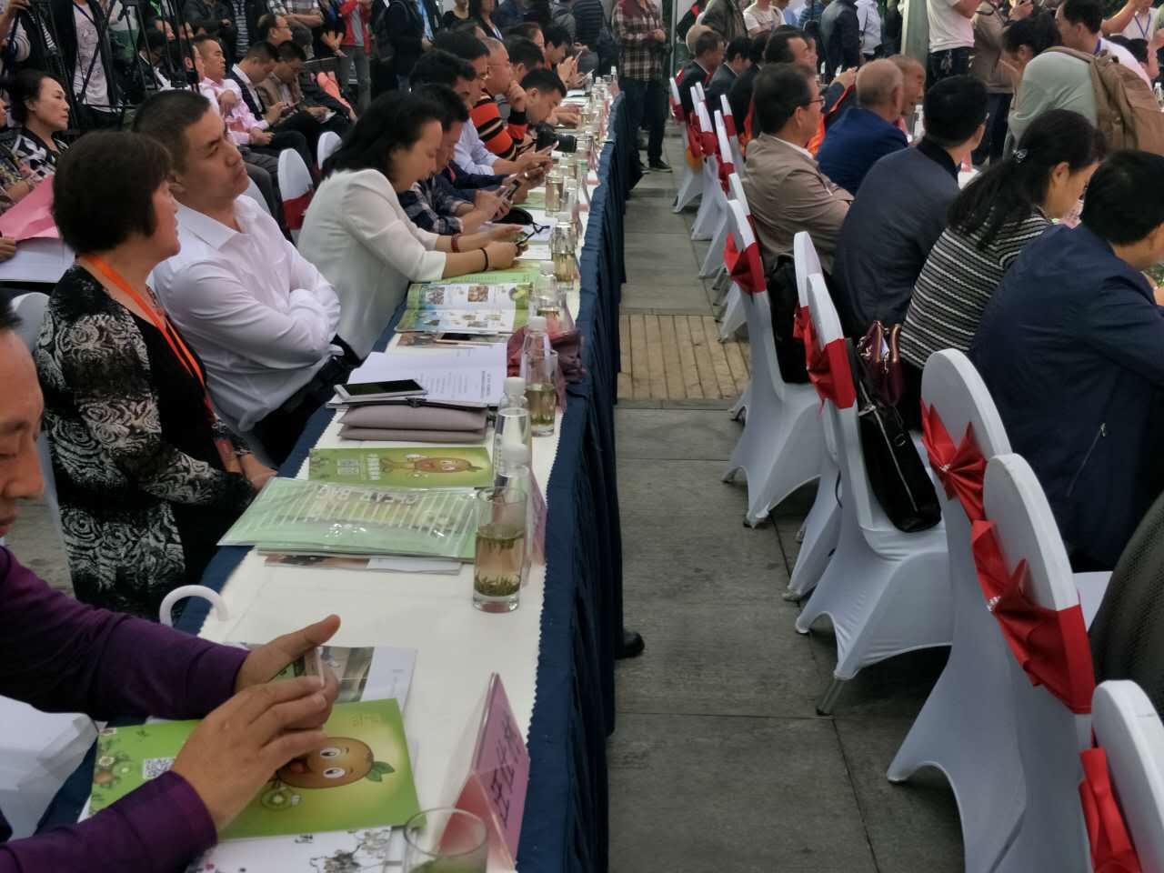 2017西安·周至猕猴桃主题年会在周至县曲江农博园圆满举行