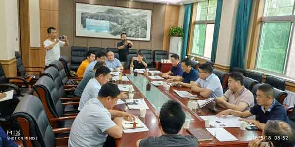 2018年5月18日上午苏陕扶贫协作周至太仓商务交流座谈会