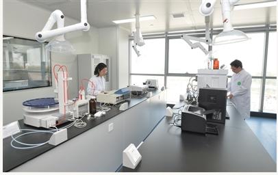 中国-新西兰猕猴桃联合实验室新区建成启用
