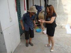 猕猴桃产业园区驻村工作组看望慰问困难党员